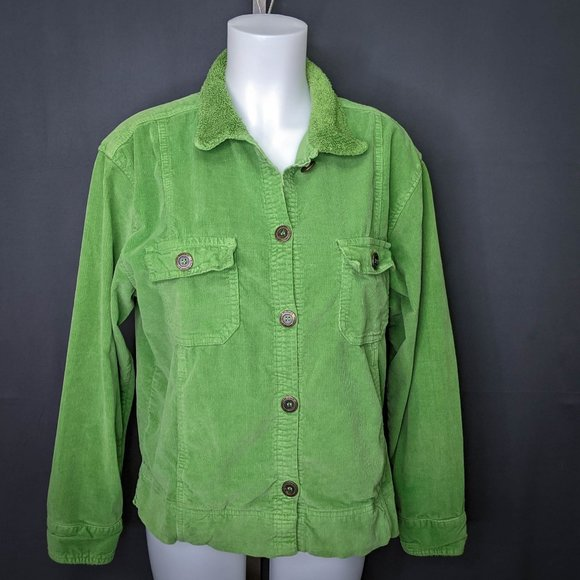 Fresh Produce Jackets & Blazers - Fresh Produce Womens Jacket Medium Apple Green